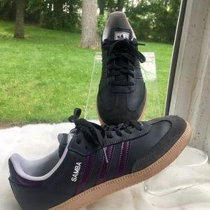 Adidas Womens Samoa Tennis Shoes Sneakers Sz 8